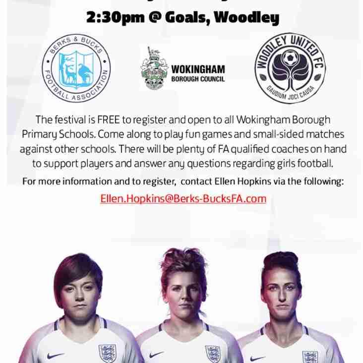 Girls' Year 3 & 4 Football Festival
