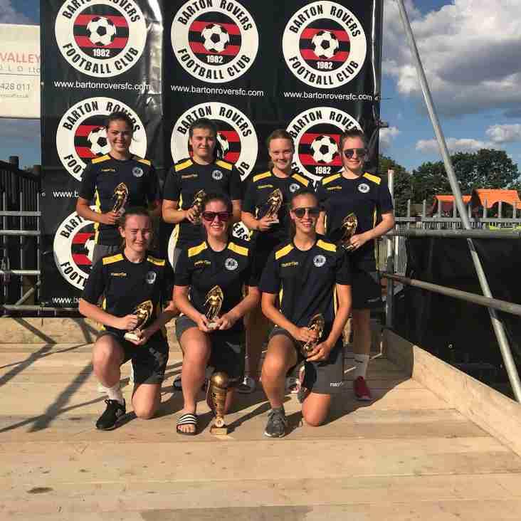 Ladies win Barton Rovers tournament