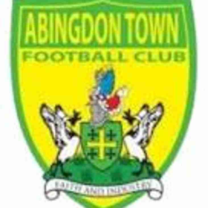 1st team start the season at Abingdon Town FC - 4th August 2018