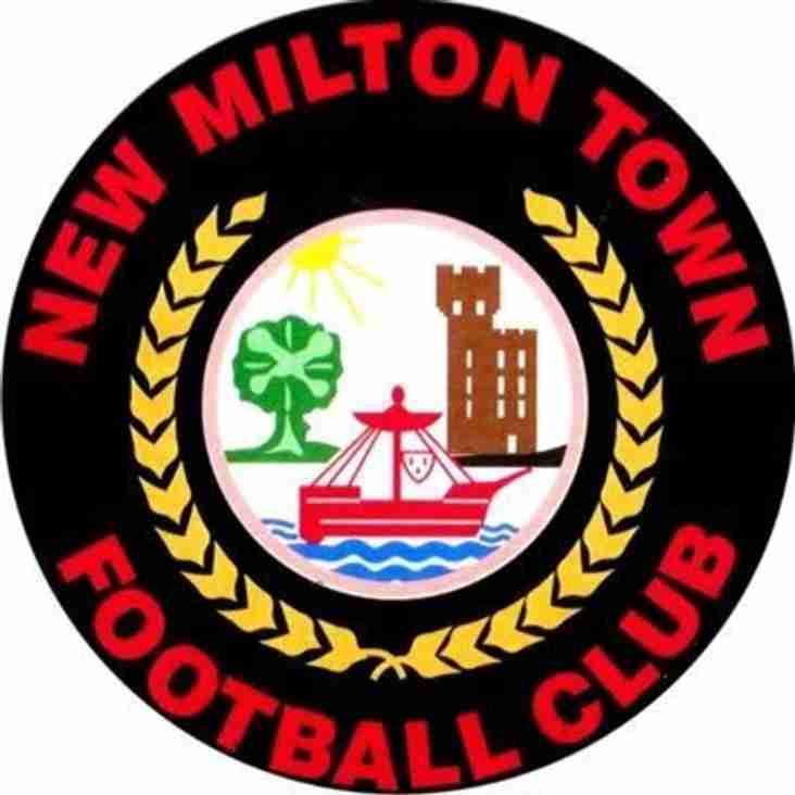 Ladies away to New Milton Town - 9th September 2018
