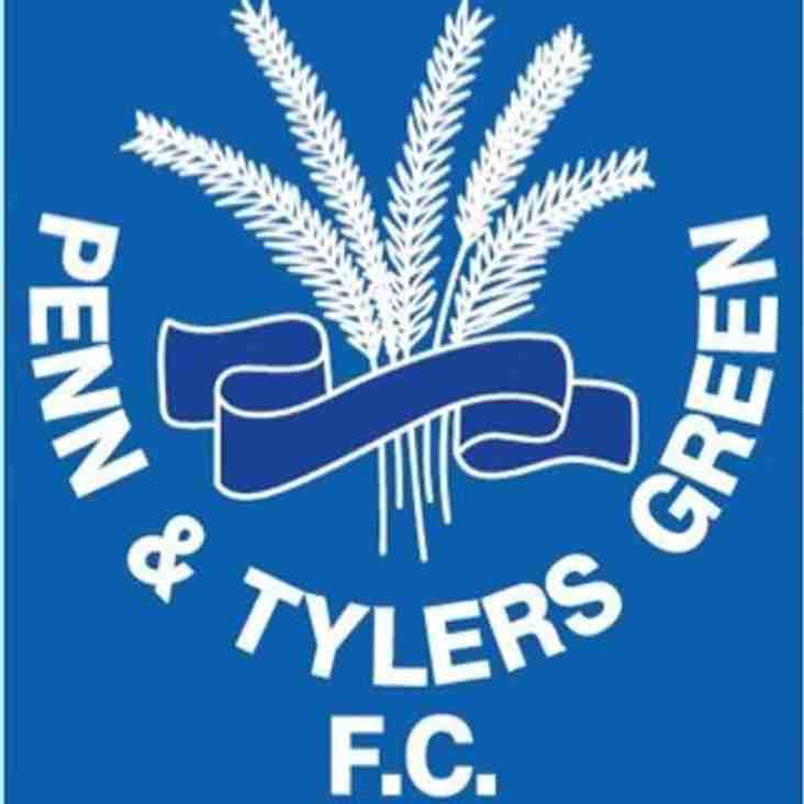1st team home to Penn & Tylers Green - 22nd September 2018