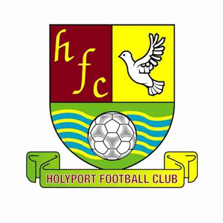 1st home to Holyport - Saturday 30th March 2019