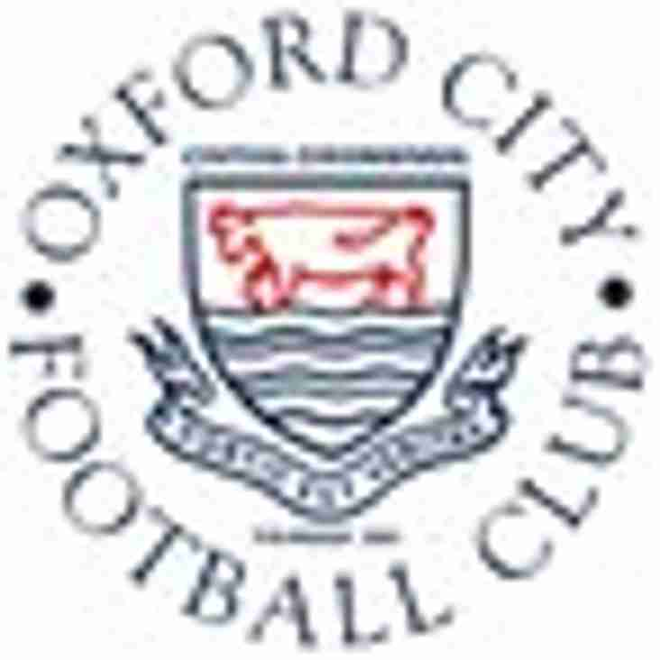 Ladies home to Oxford City - Sunday 3rd March 2019