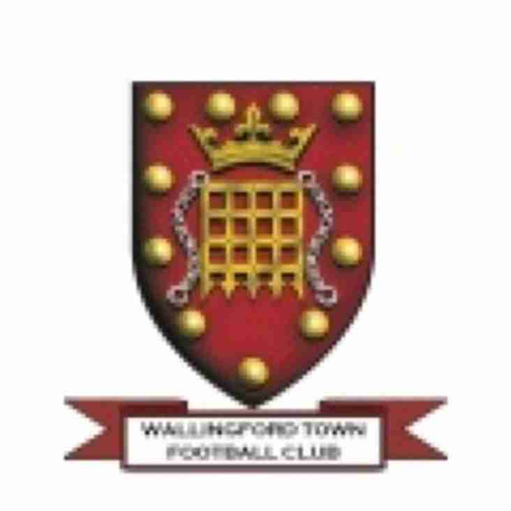 1st team away to Wallingford Town - Saturday 9th February 2019
