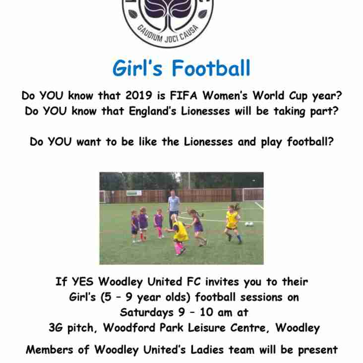Girls' Football Sessions