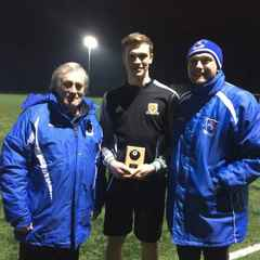 Under 19s Player of the Month for January