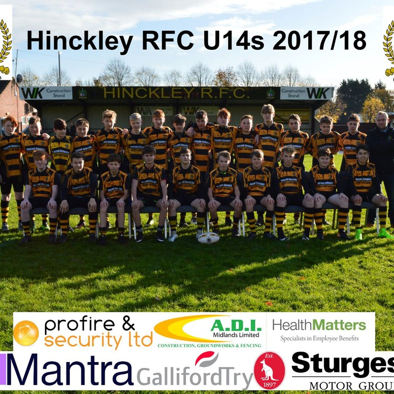 U14s beat Nuneaton RFC 8 - 27