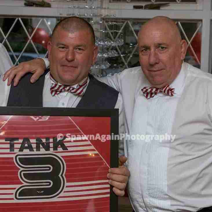 """Dave """"Tank"""" Purton Recognised"""