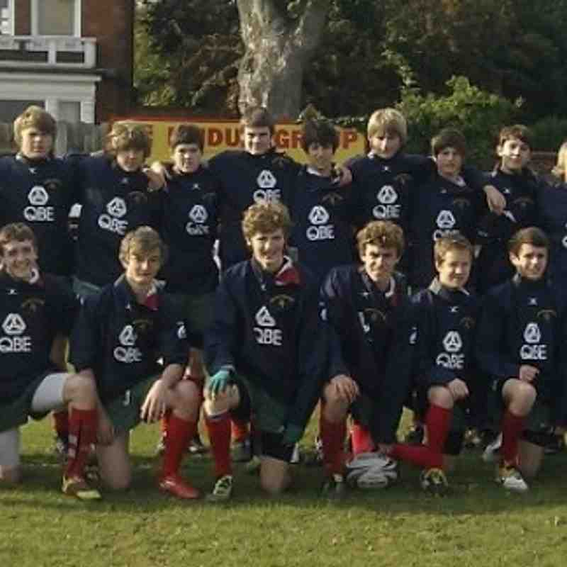 U15s Team Photo