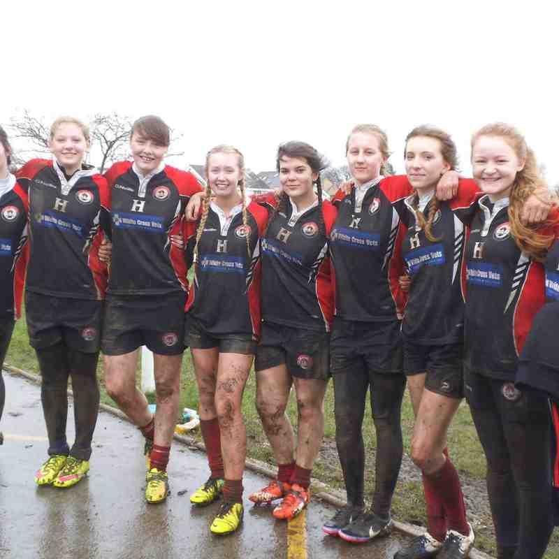 Baildon U18 Girls V Malton Belles