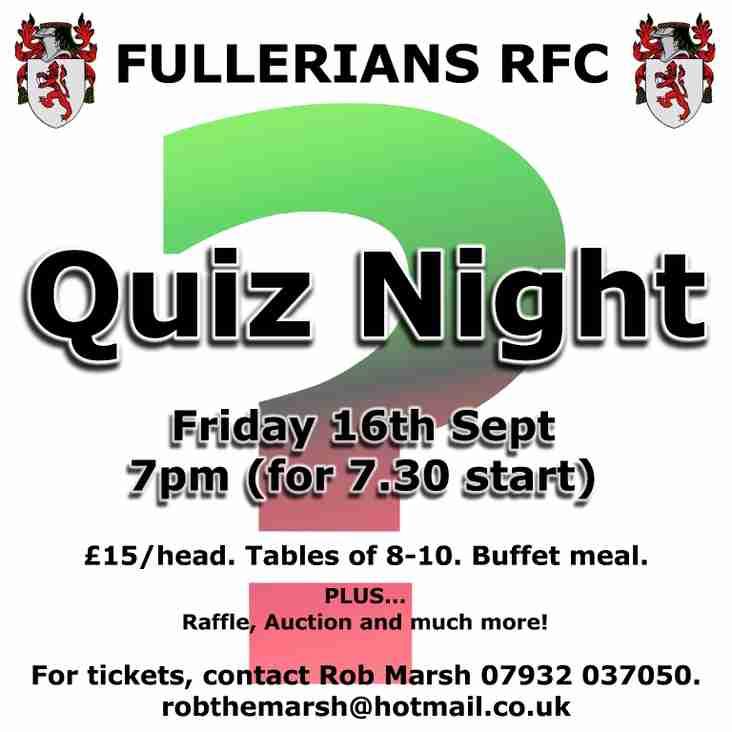Quiz Night at Fullers