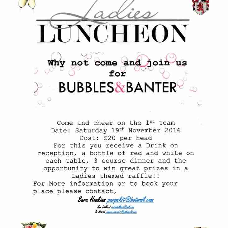 Ladies Lunch 19th November
