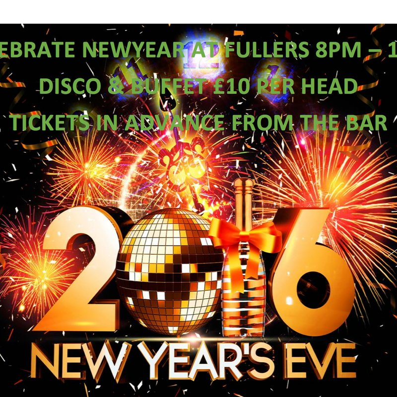 The Now World Famous, Fullers New Year Eve bash is back