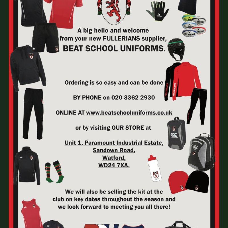 BSU Sport - Fullerians Official Kit Supplier