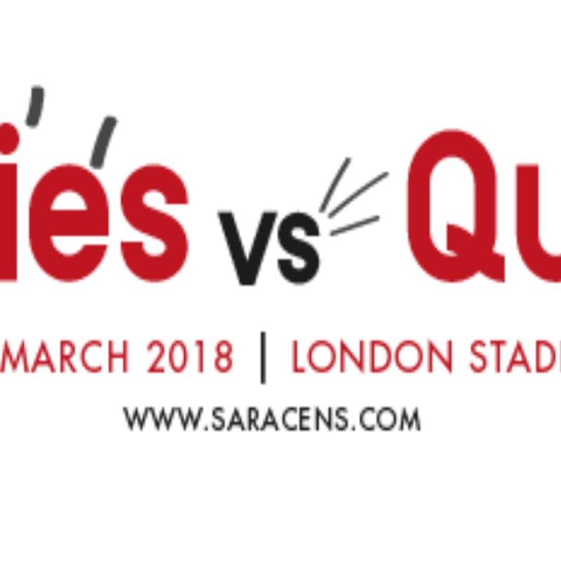 Sarries v Quinn's March 2018