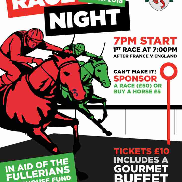 Race Night at Fullers