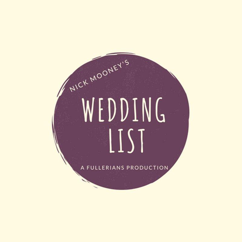 The Fullerians Wedding List