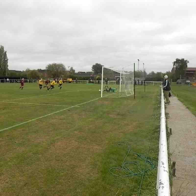 Notts Senior cup round 1 Basford 2 v 1 Radford