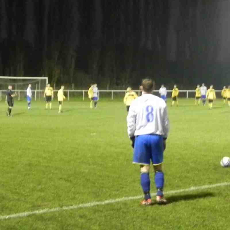 Basford 1 v 0 Attenboro Notts Senior cup 19th Nov 2011