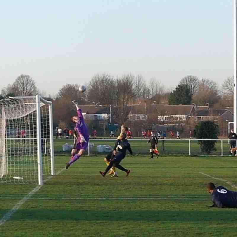 AFC Hucknall 1 v 3 Basford Utd 14-01-12