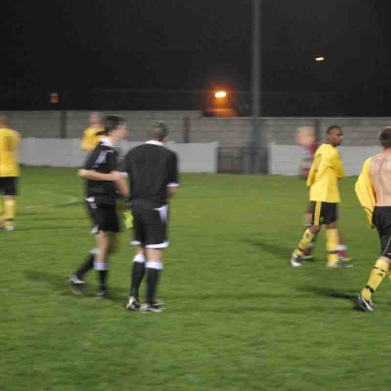 Phoenix Floodlight Southern Semi final 28-03-12  Sutton Twn 0 v 1 Basford Utd
