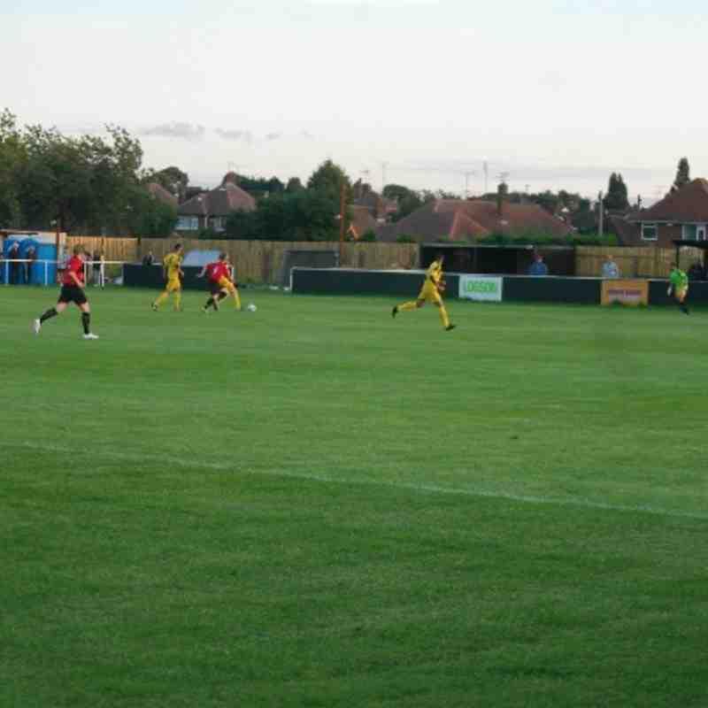 Basford 1 -0 Winterton Rangers Tues 13-08-13