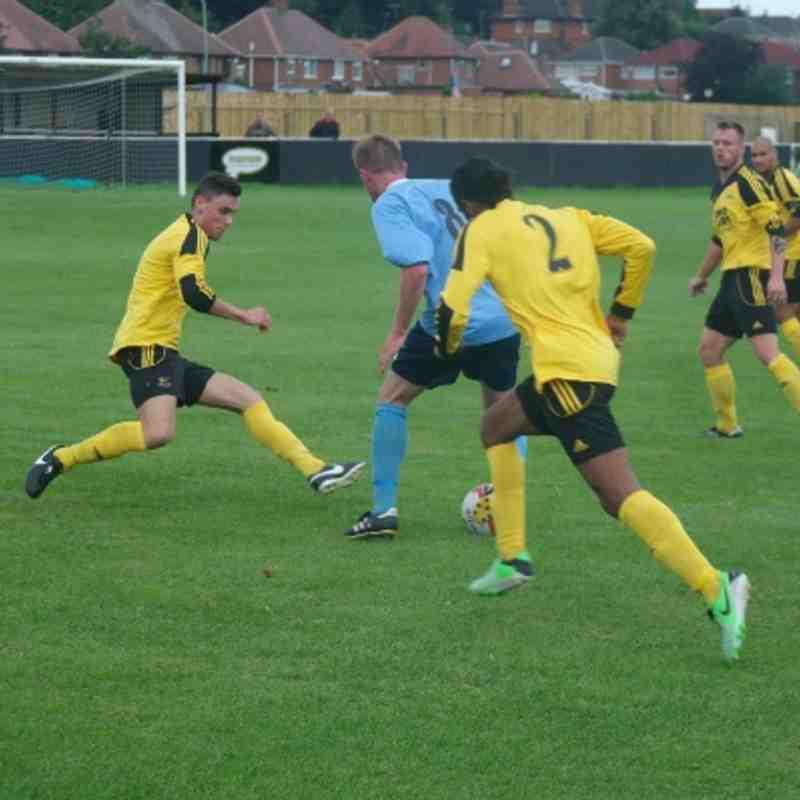 Basford 1 - 0 Holwell Sports 17-08-13