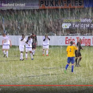 Basford take a point at Snowy Stocksbridge Park Steels (VIDEO NOW ON LINE)