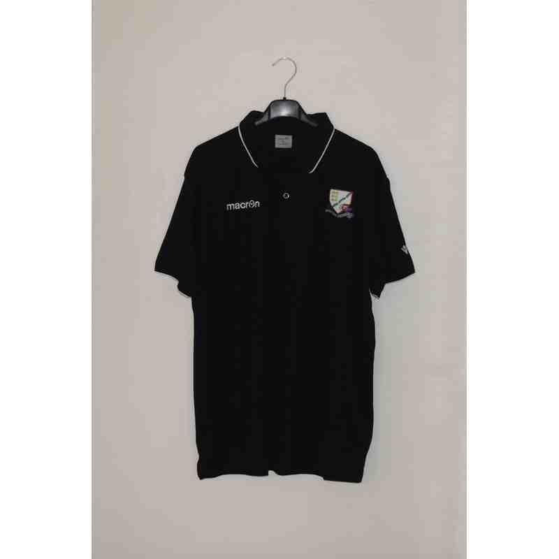 Replica matchday black polo shirts