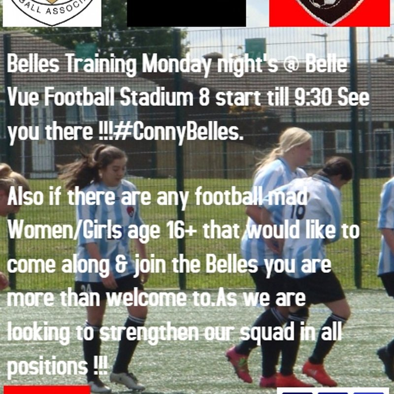 BELLES TRAINING DAY IT'S A MONDAY !!!