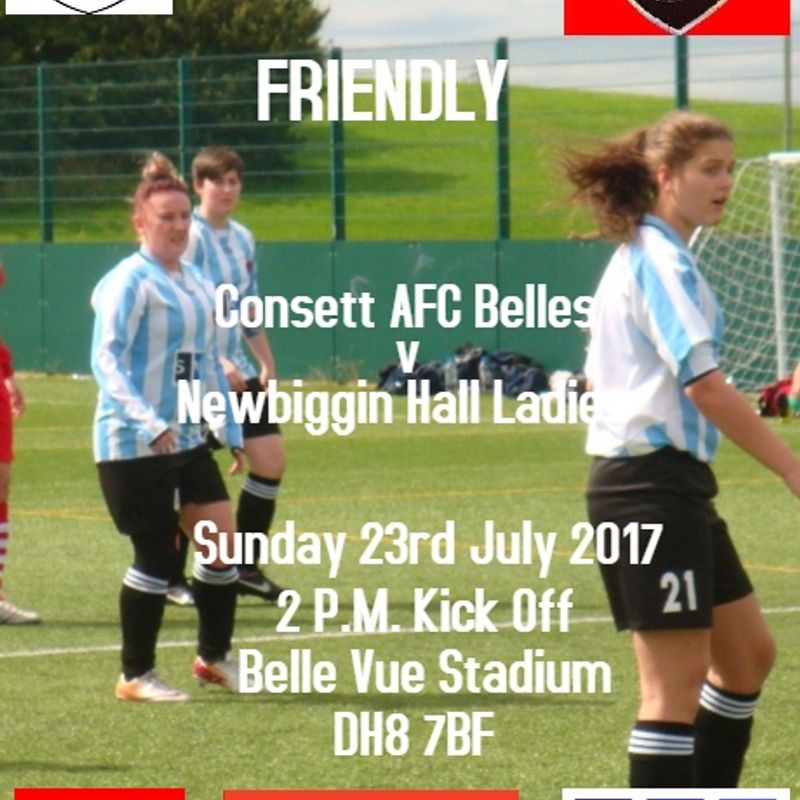 FIRST FRIENDLY THIS SUNDAY !!!
