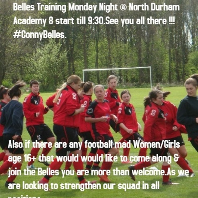 TRAINING DAY IT'S ON THIS MONDAY AT NORTH DURHAM ACADEMY!!!