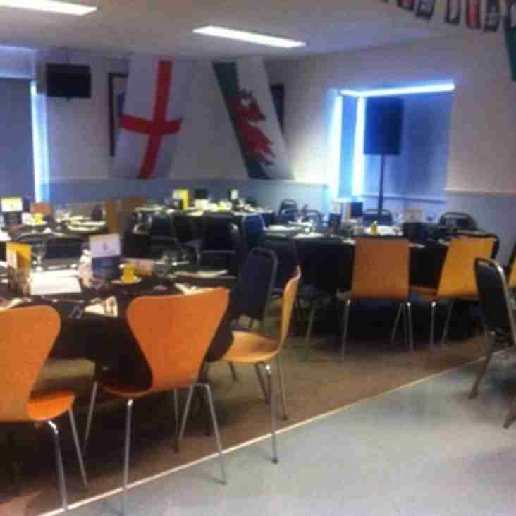 Lunch at the club before the game v Saffron Walden, Saturday 24th September