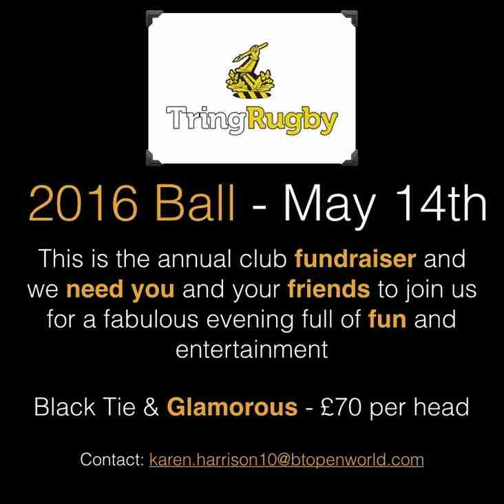 TringRugby Ball - 14th May 2016