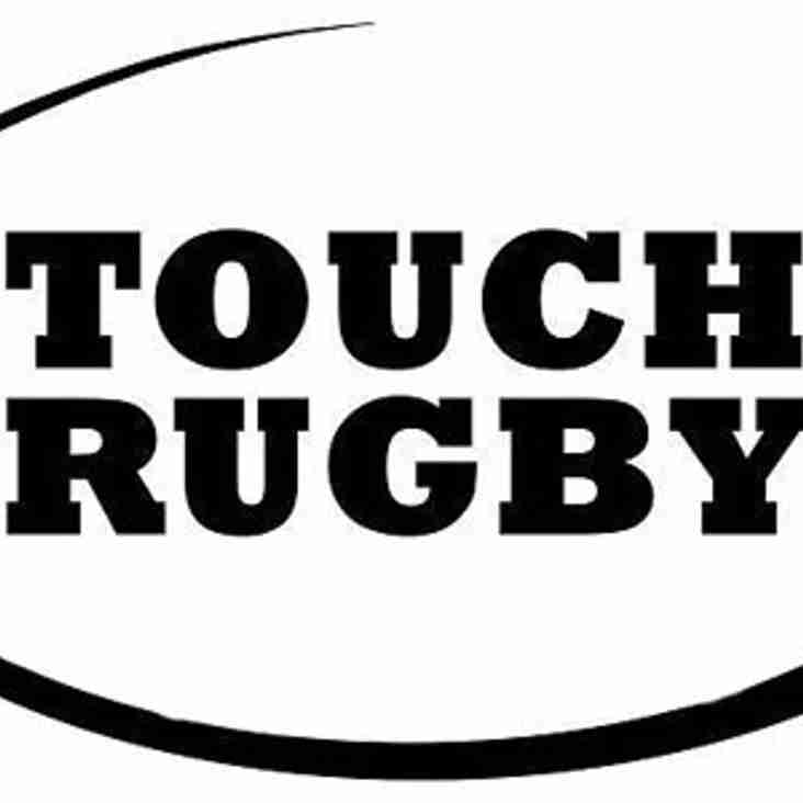 Touch Rugby kicks off at Tring - Thursdays at 7pm Cow Lane