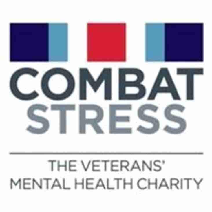 Raising money for the UK 'Combat Stress' charity