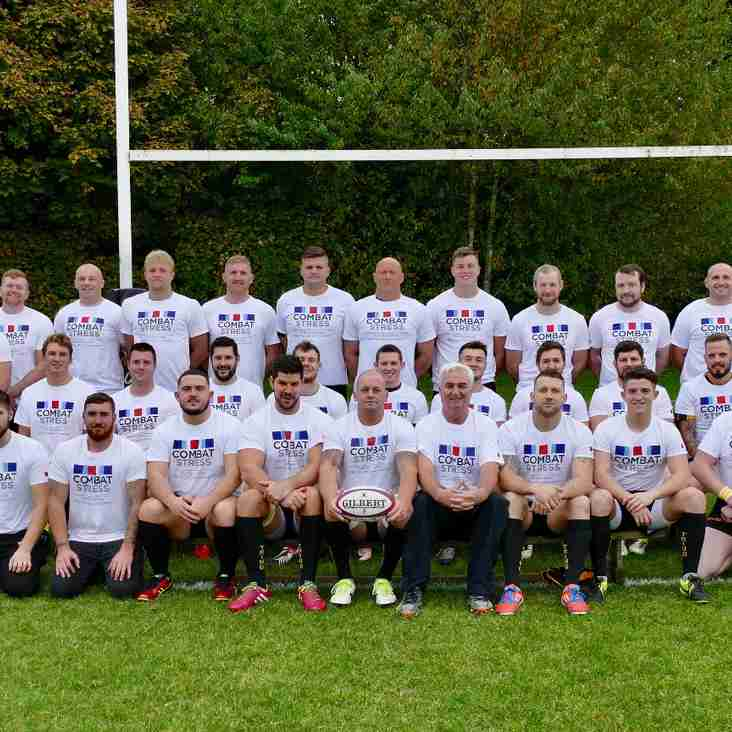 Combat Stress fundraising at Tring RFC approaches £2k