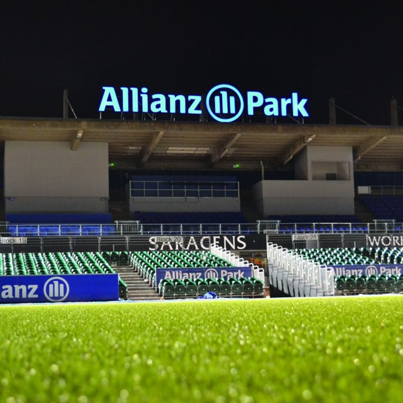Tring 2's in the Herts Presidents Cup final at Allianz Park