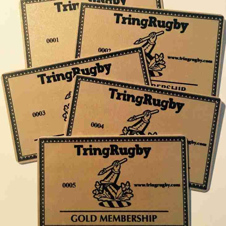 Membership cards arrive!
