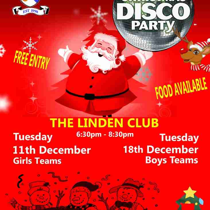 Christmas Parties for the Juniors