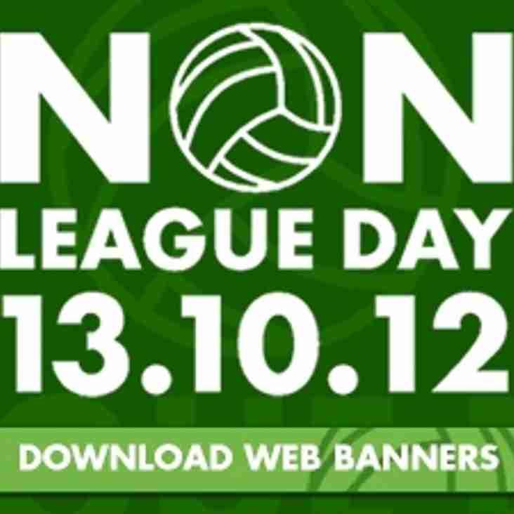 Blues back Non-League Day