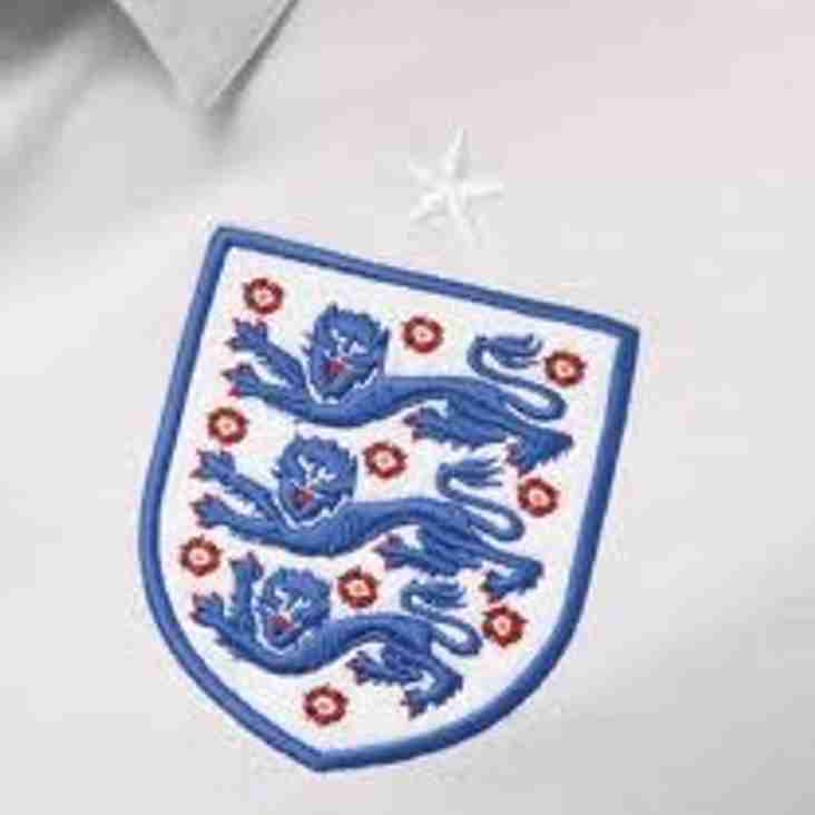 Volunteer called up by England!
