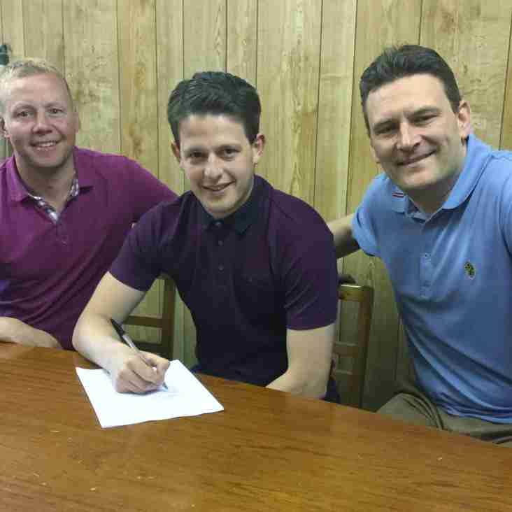 Newsham is duo's first signing