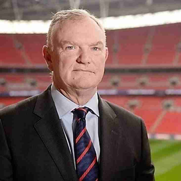 New FA chief heading to cup tie!