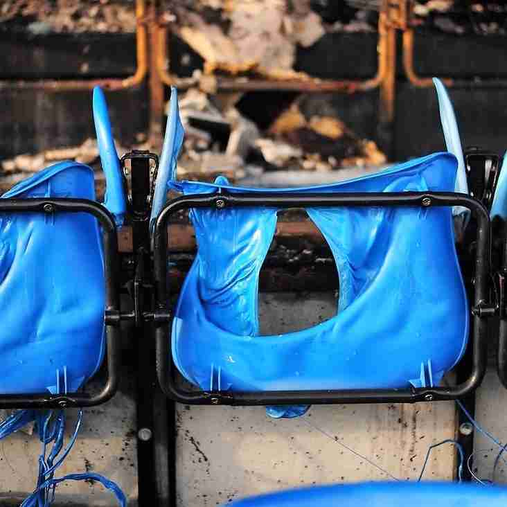 Police confirm blaze was arson
