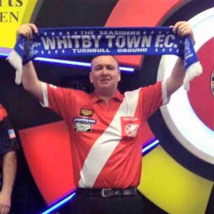 Darts champ backing Seasiders!
