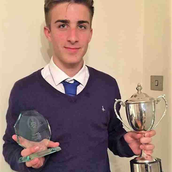 Teen star crowned best in county