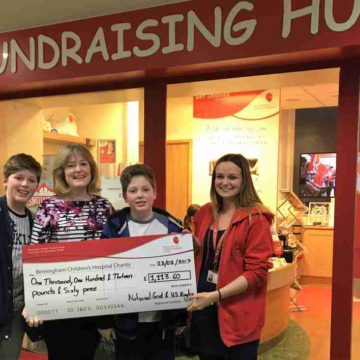 Anniversary leads to charity windfall