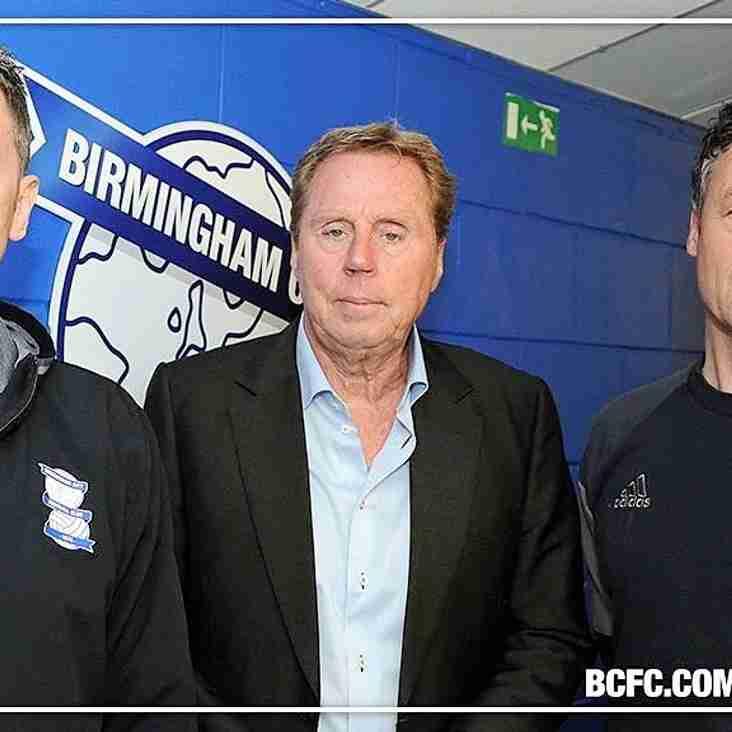 Redknapp calls up Sports coach
