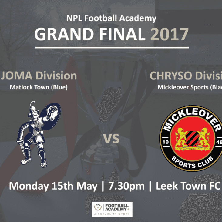 First play-off final to decide champs